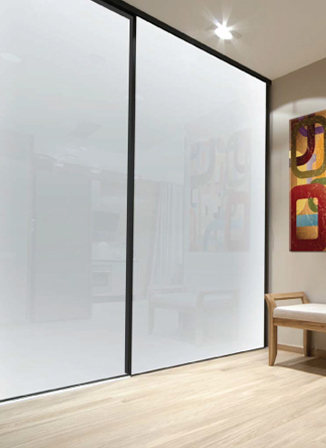 Alliance glass doors for Back painted glass designs for wardrobe