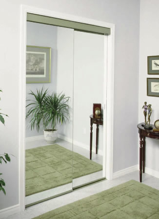 Mirror Bypass Doors