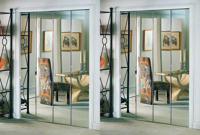 Mirror Bifold Doors alliance glass doors